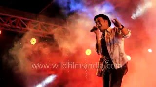 Nima Rumba sings 'Miss Catwalk' live in Sikkim