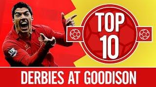 Top 10: Best Merseyside derbies at Goodison | Everton v Liverpool
