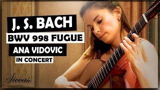 Ana Vidovic plays Fugue BWV 998 by J. S. Bach