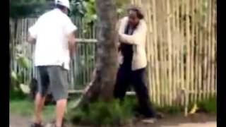2 old man fighting Super Funny! UFC Fight