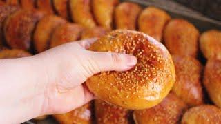 اقتصادي وهااائل!!!!كرص المخبزات من اروع مايكون خفيف مثل الريشة وبدون محسن الخبز،تجربة ناجحة 100%👍👍