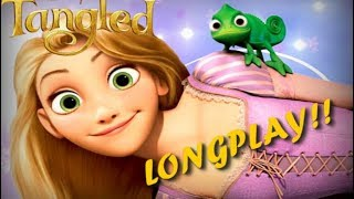 TANGLED FULL MOVIE GAME ENGLISH DISNEY RAPUNZEL l Disney Complete Games