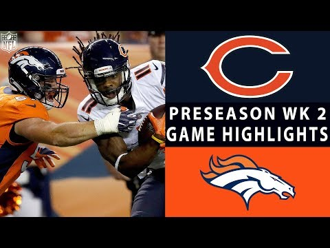 Xxx Mp4 Bears Vs Broncos Highlights NFL 2018 Preseason Week 2 3gp Sex