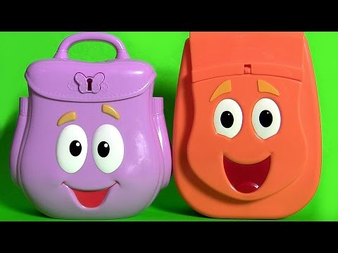 Dora Explorer Backpack Surprise Talking Diego Rescue Backpack Surprise Eggs Go Diego Go