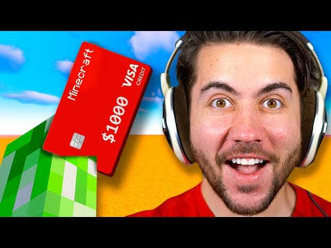 Minecraft Creepers Decide How I Spend 1000