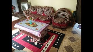INDIAN HOUSE TOUR - ORGANISATION AND ARRANGEMENTS- home TOUR | Indian Rented middle class Home Tour