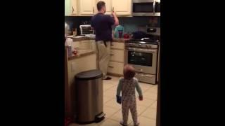 Toddler back talking