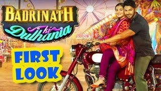 Download Badrinath Ki Dulhania First Look OUT | Alia Bhatt, Varun Dhawan - Upcoming Bollywood Movie 2017 3Gp Mp4