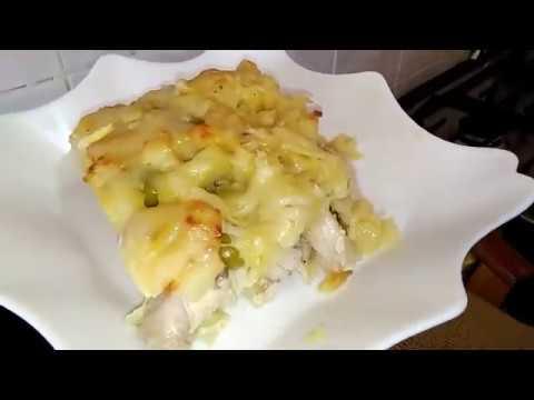طريقة عمل وجبة جراتان الدجاج و البطاطا في 10 دقائق و لا أروع لذيييييذة جداااا