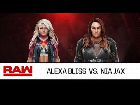 Xxx Mp4 WWE 2K19 Alexa Bliss Vs Nia Jax 3gp Sex