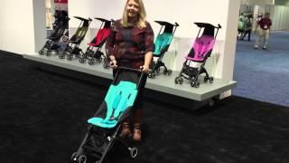 GB Pockit Stroller. The world's smallest stroller fold!
