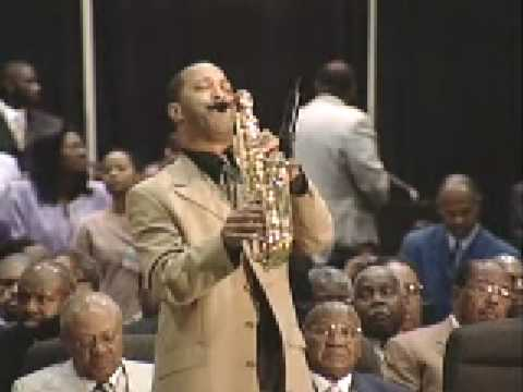 More Than Anything - Gospel Sax Cover (COGIC AIM Convention, LA) - Kevin Moore