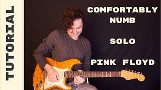 Como Tocar el Solo de Comfortably Numb de Pink Floyd (David Gilmour) en Guitarra Eléctrica