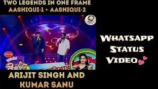 Arijit Singh And Kumar Sanu | Live | WhatsApp Status Video | Full HD