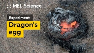 How to make a dragon's egg from 2 simple mixtures (