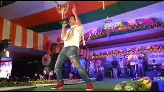 Jishu Sengupta Live Stage Dance Performance At Mugberia