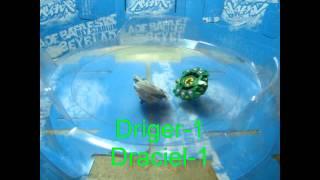 Beyblade Draciel G VS Driger G