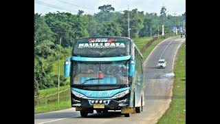 Aksi Bus Legen Lintas Sumatera PMH in Action