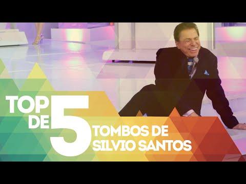 TOP DE 5 Tombos de Silvio Santos
