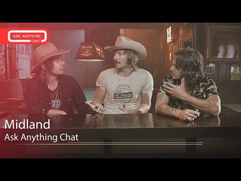 Midland Talk About Their Nudie Suits & Cam's MTV Music Video Award. Watch Part 1