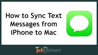 How to Sync Messages from iPhone to Mac