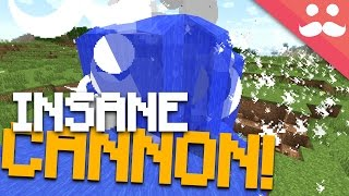 Making Water Proof TNT Cannons in Minecraft!