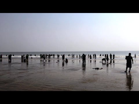 Old Digha Sea Beach - West Bengal Tourism - Indian Beach Video