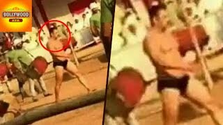 Salman Khan Spotted In UNDERWEAR On 'Sultan' Sets | Bollywood Asia