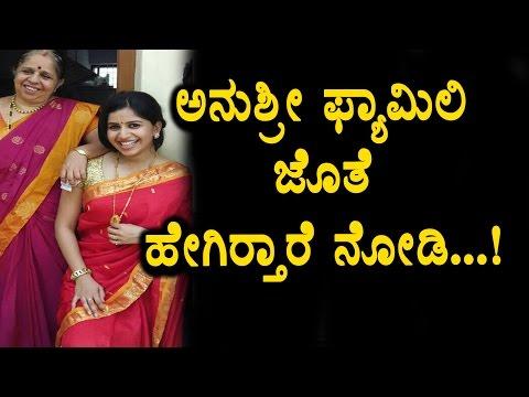 Xxx Mp4 Anushree Family Video Anchor Anushree With Family Cute Photos Top Kannada TV 3gp Sex