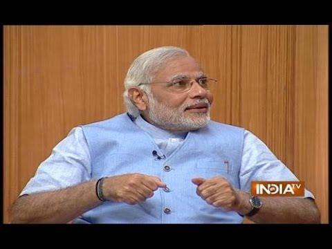 Narendra Modi in Aap Ki Adalat 2014, Part 4