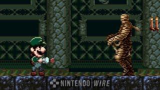 Luigi's Castlevania | Super Smash Bros. Ultimate Trailer De-make