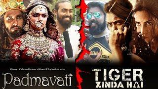 Tiger Zinda Hai vs Padmavati | Salman Khan Vs Deepika | BIG CLASH | FANS Reaction