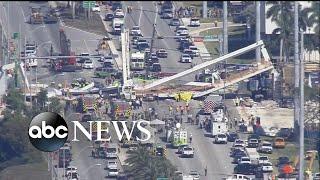 Disastrous bridge collapse in Florida