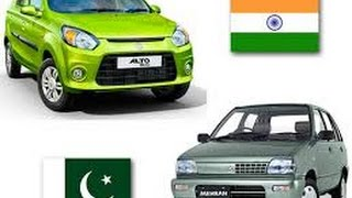India Auto Industry  With Technology Transfer While Pakistan focused on local Assembling