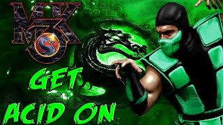Mortal Kombat 3 M.U.G.E.N: Get Acid On - Arcade Mode w/ Reptile