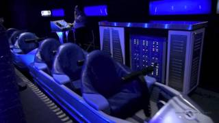 Space Mountain Front Row Nightvision HD Magic Kingdom Walt Disney World