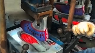 How the Inexpensive Sneakers is Made | Excursion to the Chinese Factory