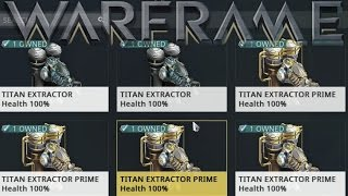 Warframe - Extractor Farming (Underated Feature)