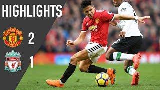 Manchester United 2-1 Liverpool - Premier League Rewind
