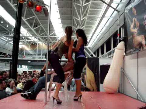 Eros Coruña show lésbico