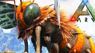 PLAY AS QUEEN BEE, CREATE YOUR OWN HIVE! - Ark Survival Evolved Modded Stream