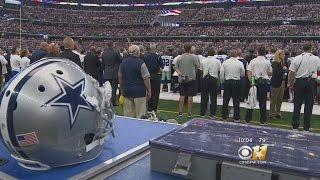 National Anthem Protests Unseen At Cowboys Season Opener