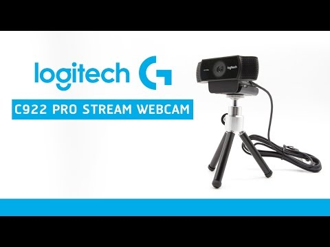 รีวิว Logitech C922 PRO STREAM WEBCAM ภาพและเสียงจาก กล้อง C922