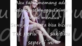 Kesakitanku (Lyric) cover by Ayu Ting Ting