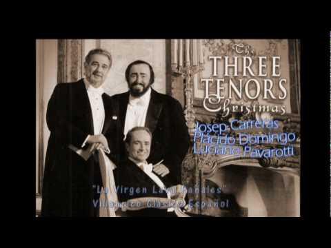 """""""La Virgen Lava Pañales"""" Los Tres Tenores (Josep Carreras, Placido Domingo, Luciano Pavarotti)"""