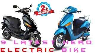Latest Hero 9 Electric Bike |Under 60k| Price & Detail Specs |