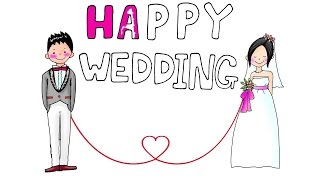 Funny Wedding Wishes 2017. Best Wishes for Wedding. Happy Wedding Wishes. Happy Marriage!