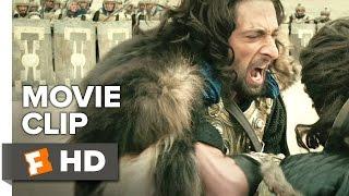 Dragon Blade Movie CLIP - Good Throw (2015) - John Cusack, Adrien Brody Movie HD