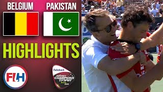 Belgium v Pakistan | 2018 Men's Hockey Champions Trophy 5th Place Playoff | HIGHLIGHTS