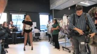 Victoria's Secret Fashion Show 2009 - Model Fittings